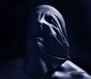 Retrato escuro assustador Fotografia de Stock Royalty Free
