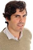 Retrato espanhol do homem Foto de Stock Royalty Free