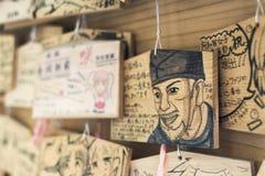 Retrato especial na tabuleta votiva Fotografia de Stock