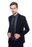 Retrato europeu do homem de negócios Foto de Stock