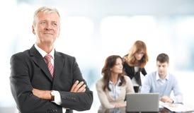 Retrato executivo do homem de negócios Fotografia de Stock