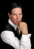 Retrato executivo - sério Imagens de Stock