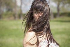 Retrato exterior da mulher 'sexy' Fotografia de Stock