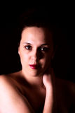 Retrato fêmea Fotografia de Stock Royalty Free