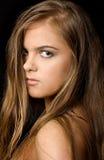 Retrato fêmea Imagem de Stock Royalty Free