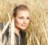 Retrato fêmea bonito Imagem de Stock