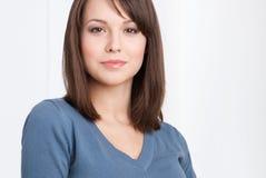 Retrato fêmea bonito do gerente fotos de stock