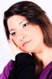 Emoções fêmeas Fotos de Stock