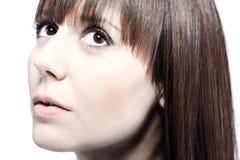 Retrato facial da beleza Fotos de Stock