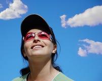 Retrato feliz foto de stock royalty free