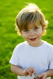 Retrato feliz da criança Fotos de Stock