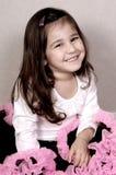 Retrato feliz da menina imagens de stock royalty free