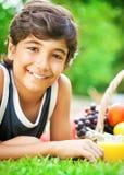 Retrato feliz del muchacho Foto de archivo libre de regalías