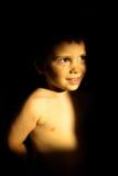 Retrato feliz del niño Foto de archivo libre de regalías