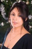 Retrato femenino festivo. Foto de archivo libre de regalías