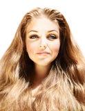 Retrato femenino hermoso Fotos de archivo
