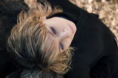 Retrato fêmea Fotos de Stock Royalty Free