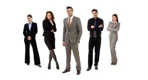 Equipo de empresarios Imagen de archivo libre de regalías