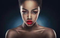 Retrato glamoroso fotos de stock