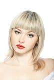 Retrato glamoroso de um blonde bonito Foto de Stock