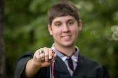 Retrato graduado Imagens de Stock Royalty Free