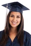 Retrato graduado da faculdade Fotografia de Stock Royalty Free