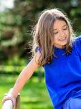 Retrato hermoso de jugar lindo del niño Imagen de archivo