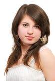 Retrato hermoso de la chica joven Foto de archivo libre de regalías