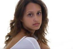 Retrato hermoso de la muchacha Fotografía de archivo