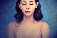 Retrato hermoso de la mujer Foto de archivo