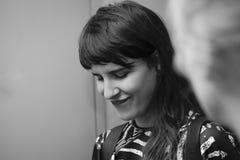 Retrato hermoso de la mujer fotos de archivo libres de regalías