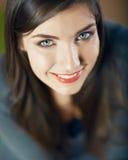 Retrato hermoso de la mujer de la cara Foto de archivo libre de regalías