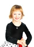 Retrato hermoso de la niña Fotos de archivo libres de regalías
