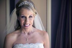 Retrato hermoso de la novia Fotos de archivo libres de regalías