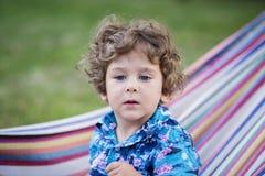 Retrato hermoso del muchacho Fotografía de archivo libre de regalías