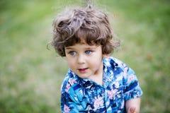 Retrato hermoso del muchacho Fotos de archivo