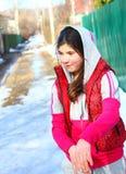 Retrato hermoso del país de la muchacha del preadolescente Fotografía de archivo