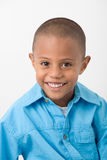 Retrato hispánico del muchacho imagen de archivo