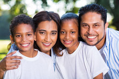 Retrato indiano da família Imagens de Stock Royalty Free