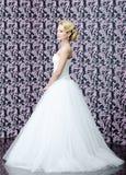 Retrato integral de la novia Fotografía de archivo
