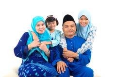 Família muçulmana Foto de Stock Royalty Free