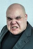Retrato irritado do homem Foto de Stock Royalty Free