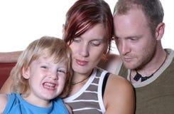 Retrato IV da família imagem de stock royalty free