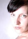 Retrato IV da mulher fotografia de stock