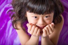 Retrato japonés joven de la muchacha imágenes de archivo libres de regalías