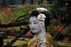Retrato japonês Imagem de Stock