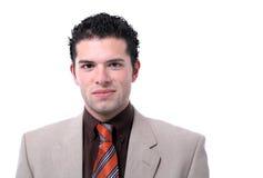 Retrato joven atractivo del hombre de negocios Foto de archivo