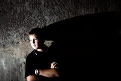 Retrato joven del adolescente Foto de archivo