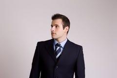 Retrato joven del hombre de negocios Imagenes de archivo