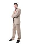 Retrato joven del hombre de negocios Foto de archivo